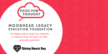 Moorhead Legacy Education Foundation supports Moorhead Schools on Giving Hearts Day